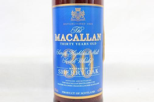 マッカラン30年