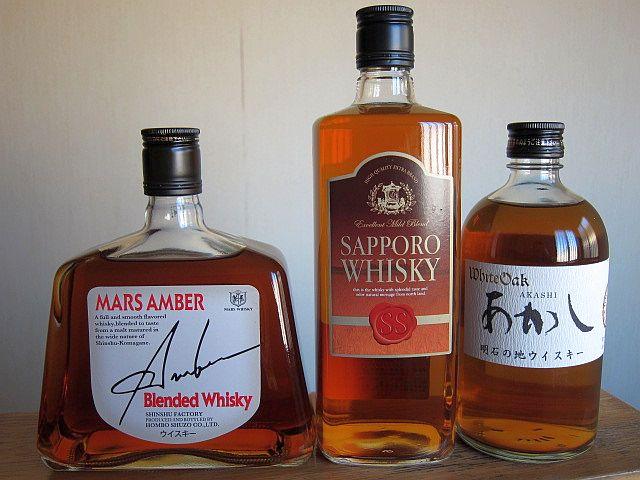 古い日本のウイスキー
