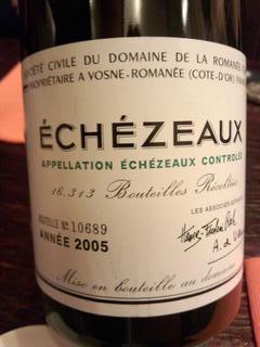 DRCエシェゾー Echezeaux