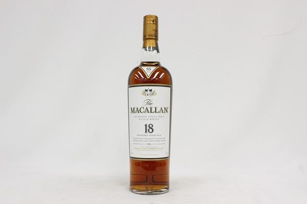 マッカラン 18年 MACALLAN シングルモルト ハイランド