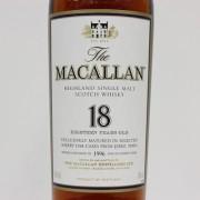 マッカラン 18年 MACALLAN