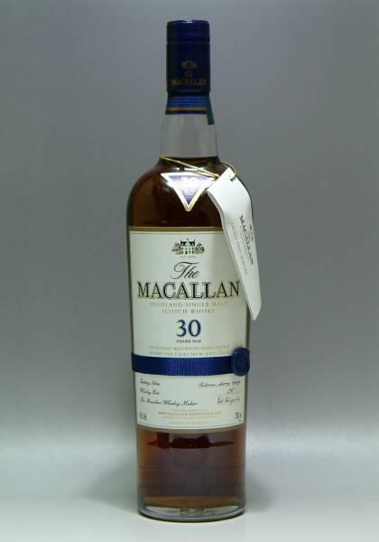 マッカラン30年 シェリーオーク サントリー輸入
