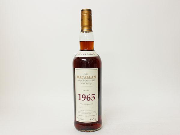 古酒 マッカラン 1965年 36年 ファイン&レア 木箱付 稀少