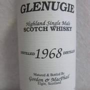 グレンアギー 1968 Gordon & MacPhail Glenugie 70000