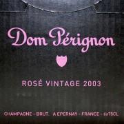 DomPerignon(ドンペリニヨン)ロゼ 2003年