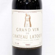 CH.LATOUR(シャトーラトゥール)1982年