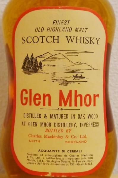 グレン・モール10年 Glen Mhor 43%
