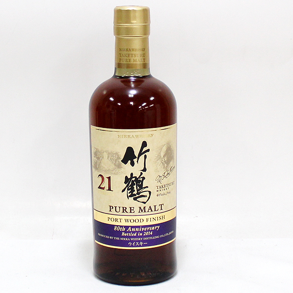 竹鶴 21年 ポートウッド フィニッシュ