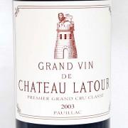 CH.LATOUR(シャトーラトゥール)2003年