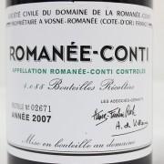 DRC ロマネ・コンティ 2007年 ROMANEE-CONTI